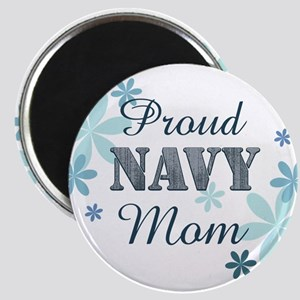 Proud Navy Mom [fl] Magnet